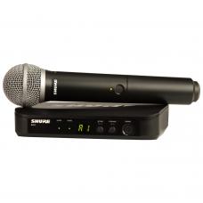 SHURE-BLX24/PG58 ست میکروفون دستی
