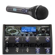 TC.HELICON - VOICELIVE3 EXTREME+MP76 مولتی افکت/میکروفون