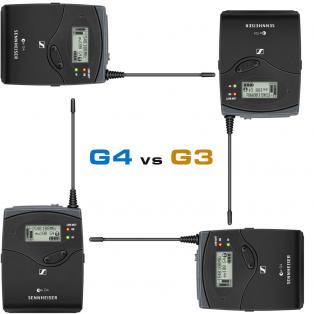مقایسه میکروفون های یقه ای سنهایزر ew 112P G3 با e..