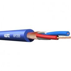 KLOTZ - MY206BL 100m کابل میکروفن آبی