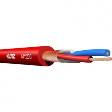 KLOTZ - MY206RT 100m کابل میکروفن قرمز