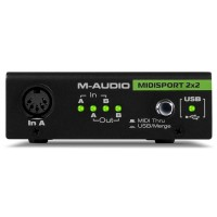 M-AUDIO - MIDI SPORT 2x2 میدی اینترفِیس