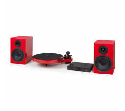PRO-JECT-SuperSens Supe Pack RED ست استریو/گرامافون