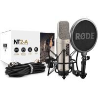 RODE - NT2-A میکروفون کندانسور و لرزه گیر