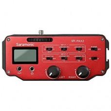 Saramonic - SR-PAX2 میکسر صدای دوربین
