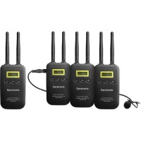 Saramonic - VmicLink5-RX+3TX میکروفن یقه ای 3 کانال