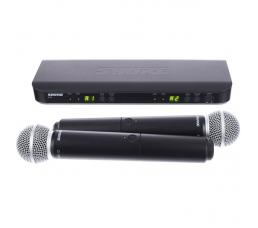 SHURE-BLX288 /SM58  میکروفون بی سیم
