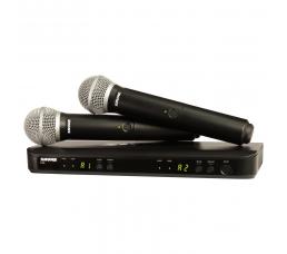 SHURE-BLX288/PG58 میکروفون بی سیم