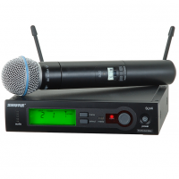SHURE-SLX24/BETA58 میکروفون بی سیم