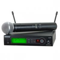 SHURE-SLX24/SM58 میکروفون بی سیم