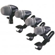 SHURE - PGDMK4 ست میکروفون درامز