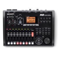 ZOOM - R8 رکوردر، کنترلر، سمپلر و کارت صدا